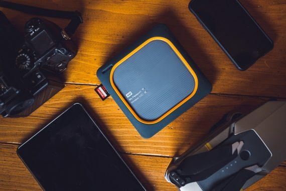 My Passport Wireless SDD review for shotkit