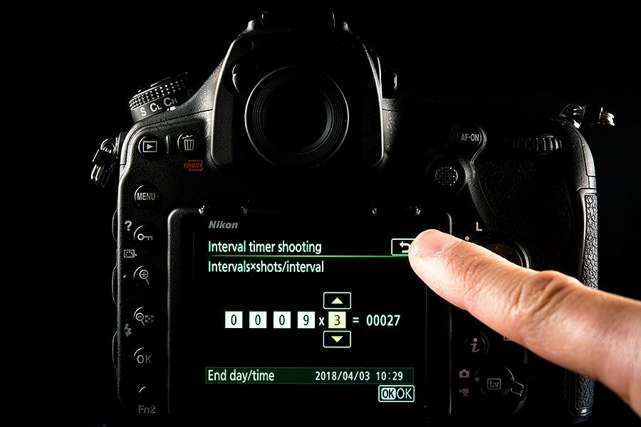Nikon D850 touchscreen capability