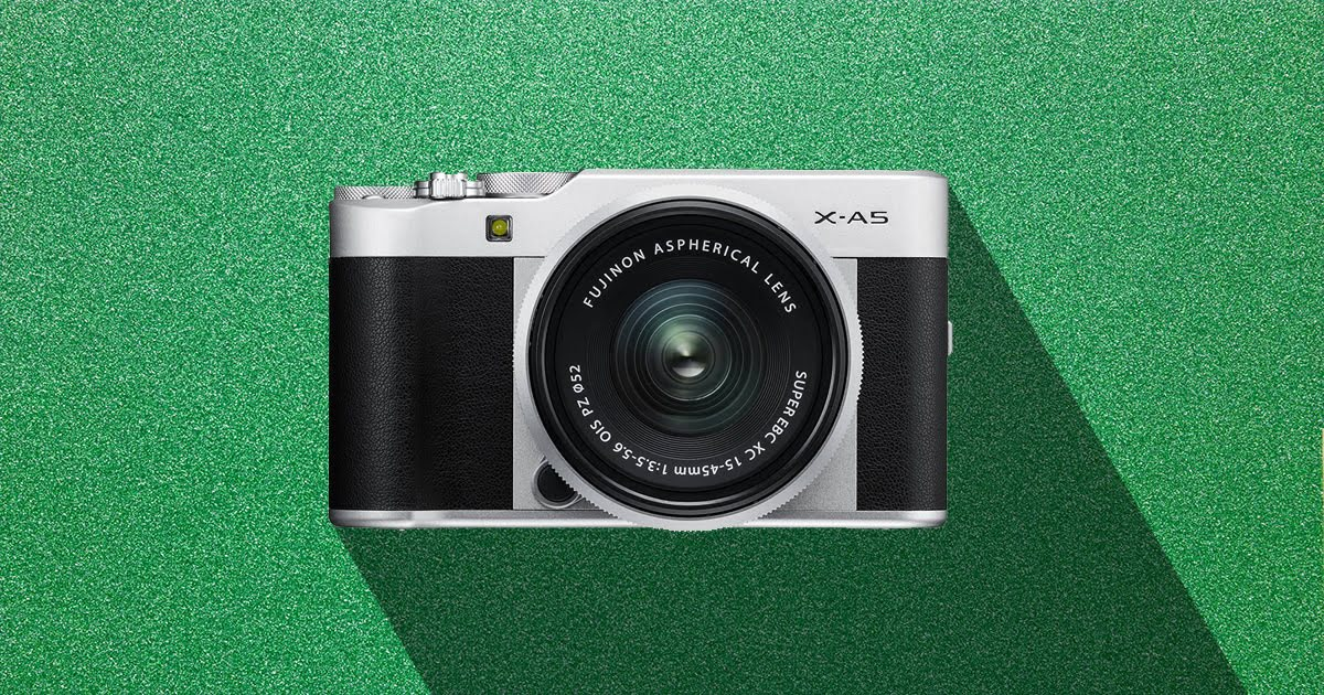 Fuji X-A5 for beginners