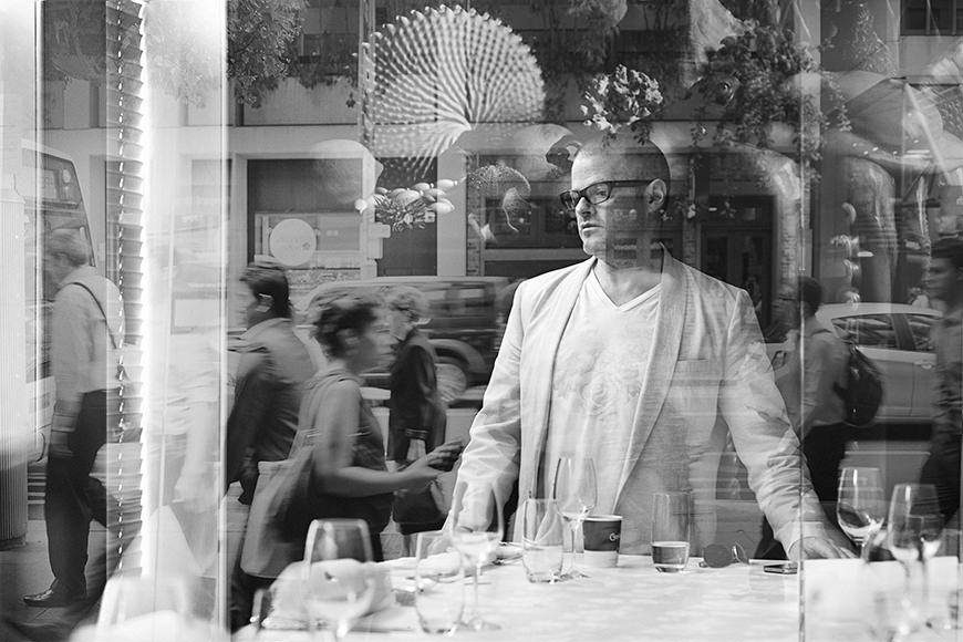 Heston Blumenthal by Jeremy Park Photographer