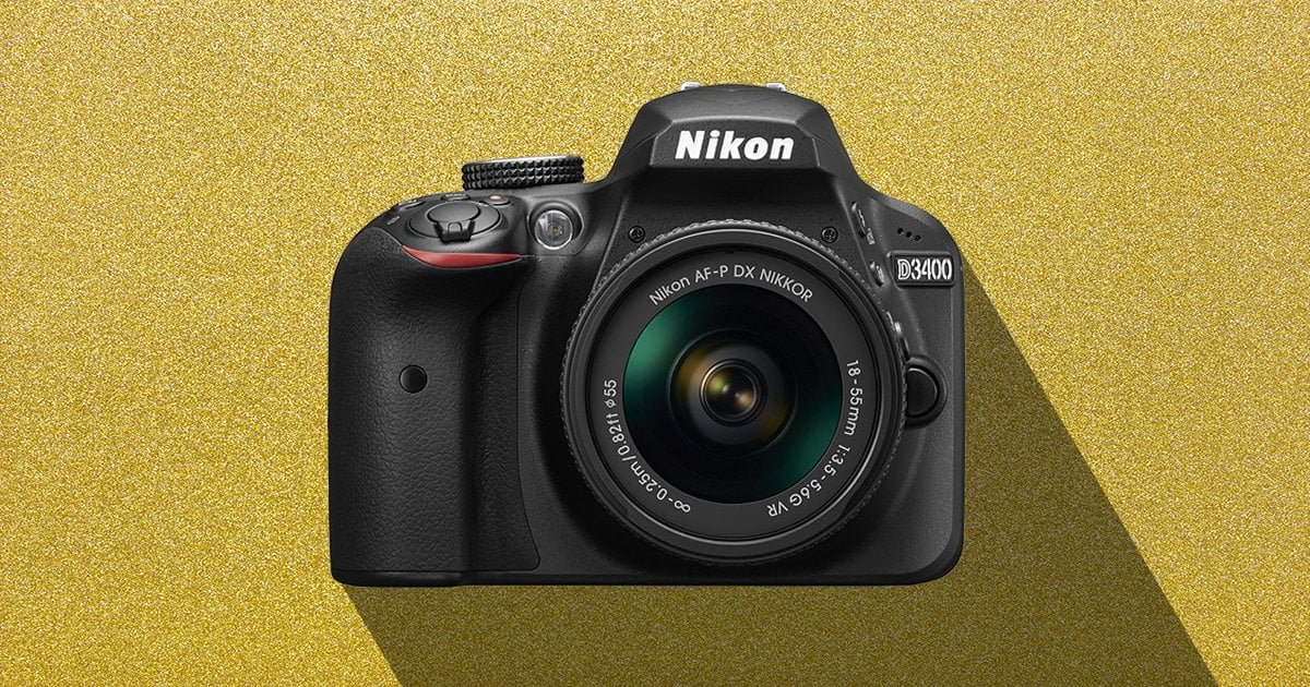 Nikon D3400 as a camera for beginners