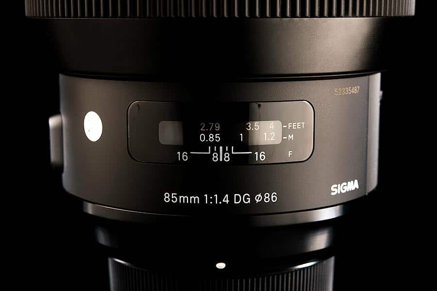Sigma 85mm art lens review