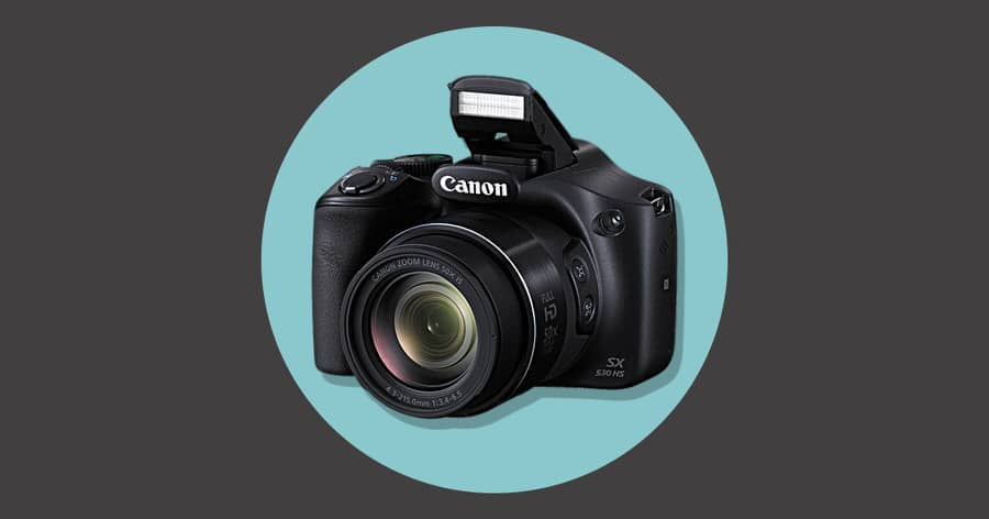 Canon SX530 HS- best canon point shoot camera