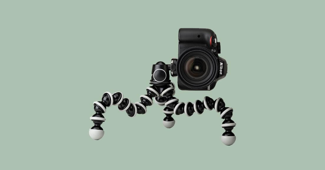 JOBY GorillaPod SLR Zoom from different angle