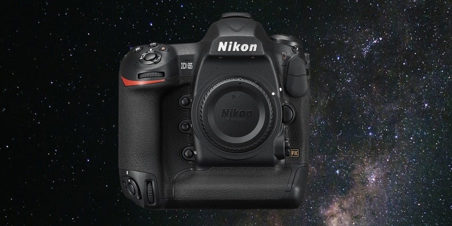 Nikon D5 - best nikon full frame camera