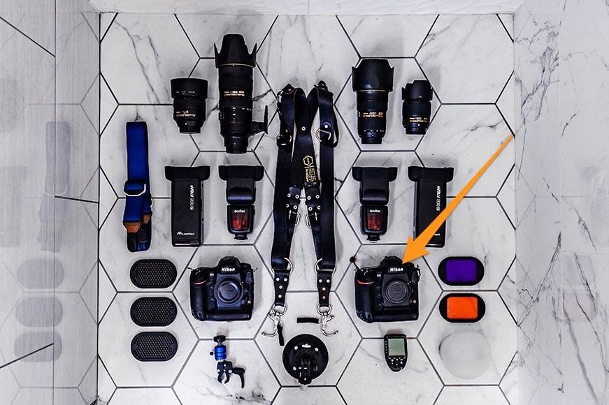 Nikon D5 full frame camera