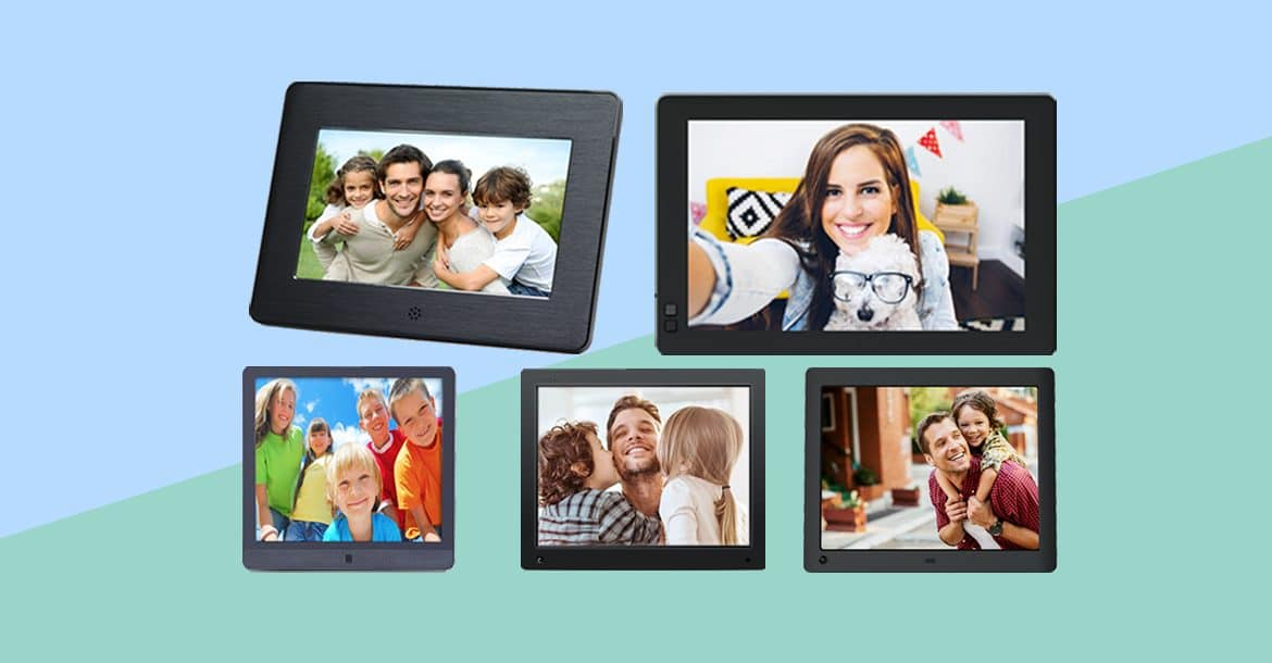 Best Digital Photo Frames Of 2018 Modern Affordable Unique