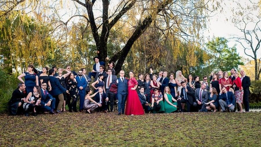 funny wedding group wedding photography