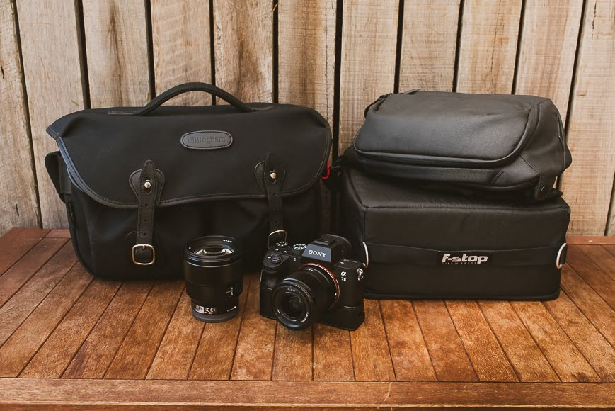 Sony accessories - camera bags