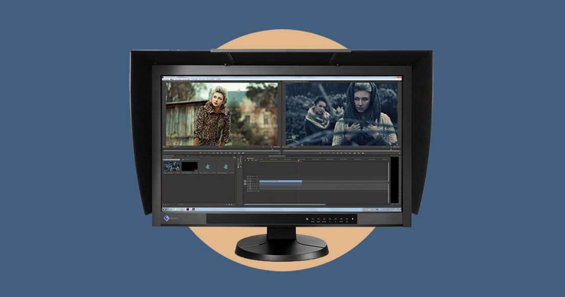 EIZO-CG277 monitor