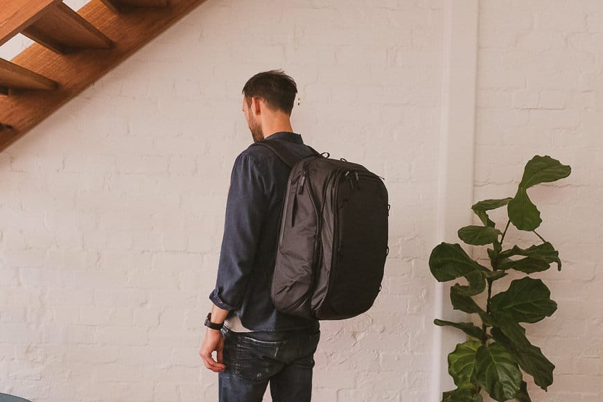 Shotkit review peak design travel bag