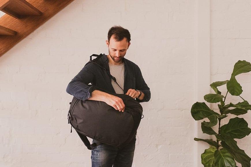 shotkit review of peak design bag