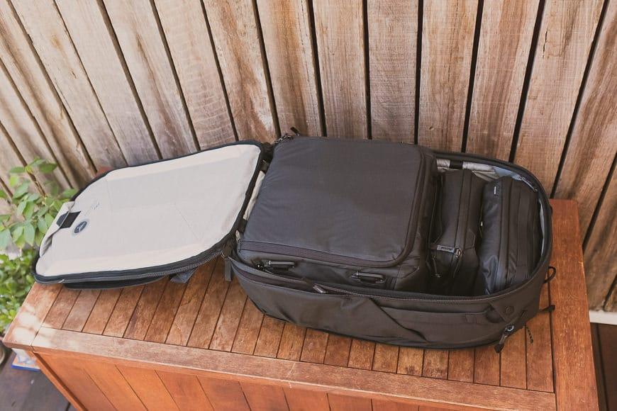 peak design review of travel bag