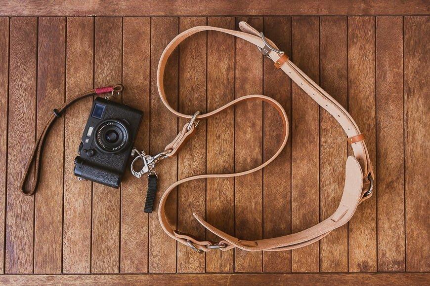 best fuji accessories - straps