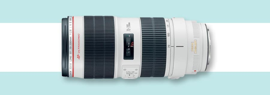 Canon 70-200mm f/2.8 IS II - multiple focal lengths