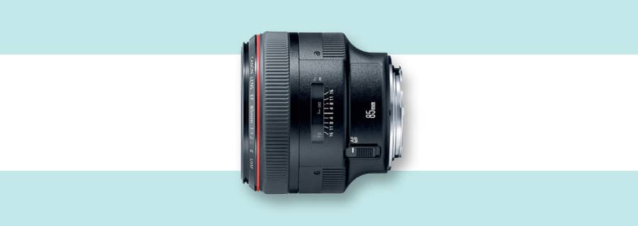 Canon 85mm f/1.2 L II = best Canon lens for portraits