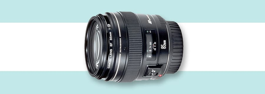 Canon 85mm f/1.8 (no image stabilization by fast maximum aperture)