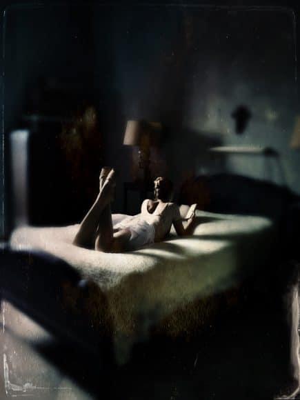 The Secret Garden of Lily LaPalma:  Edward Hopper's Bedroom, 2017