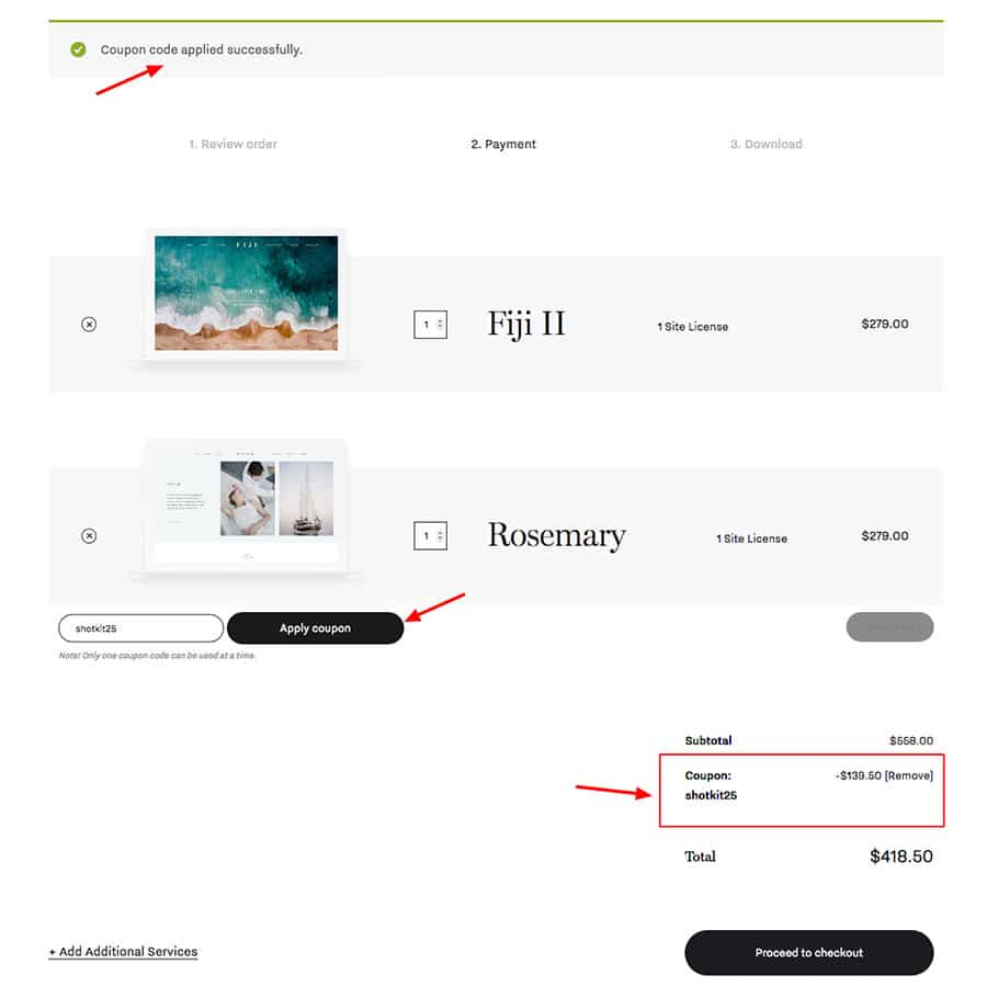 How to apply the Flothemes-coupon-code