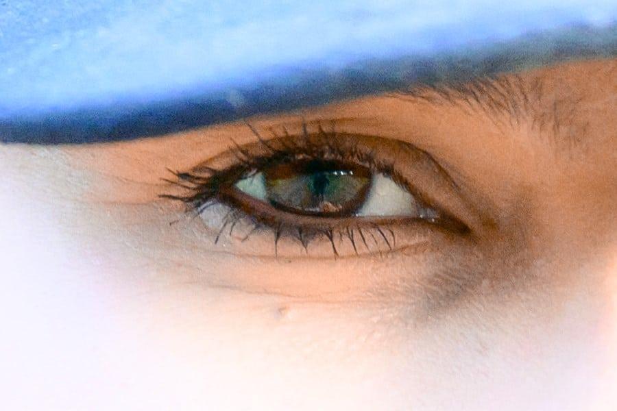 Face Detection - Crop 100% (SOOC)