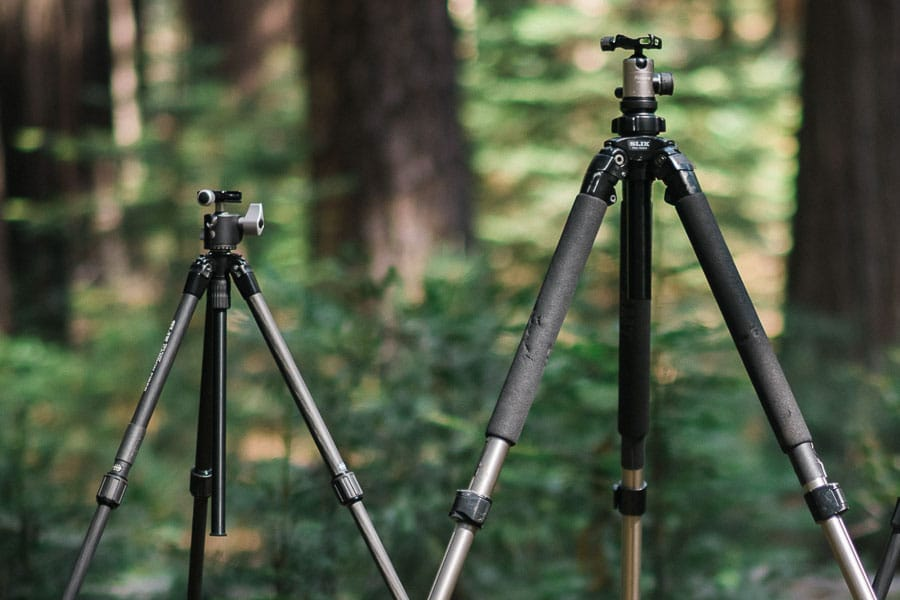 Comparing and reviewing tripods