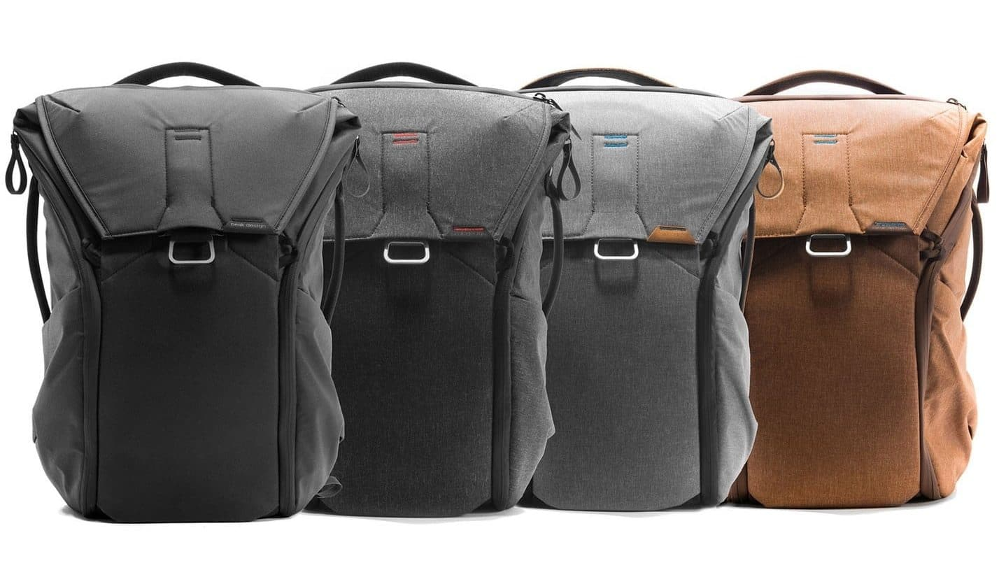 Peak Design Everyday Backpack Colors