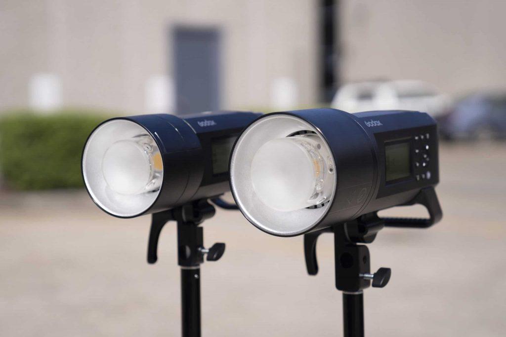 godox ad400pro and godox ad600pro modelling lamp