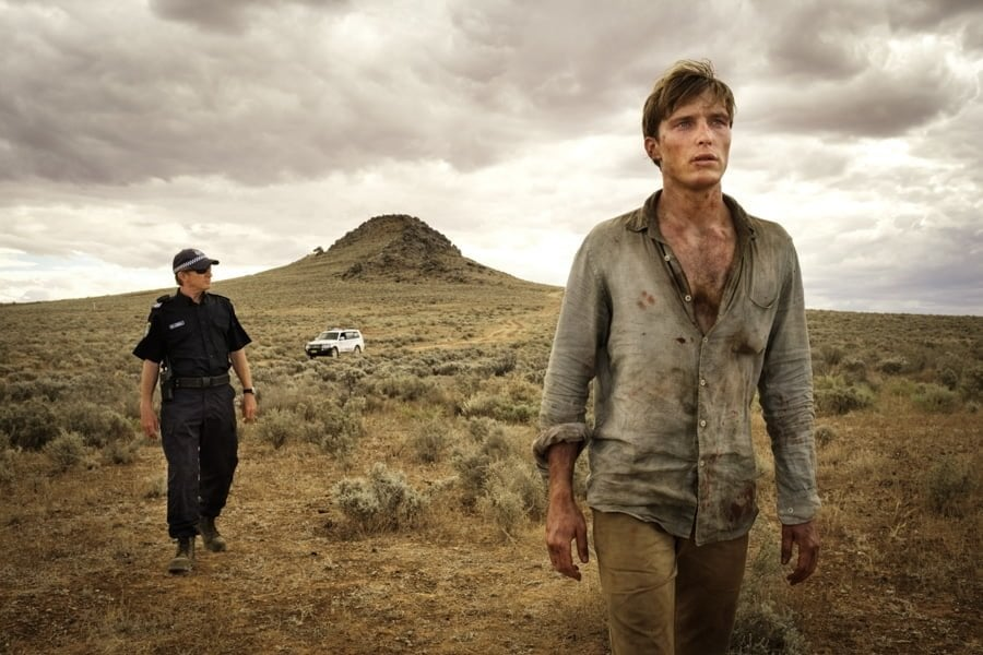 David Wenham and Sean Keenan 'Wake in Fright' Broken Hill 2017