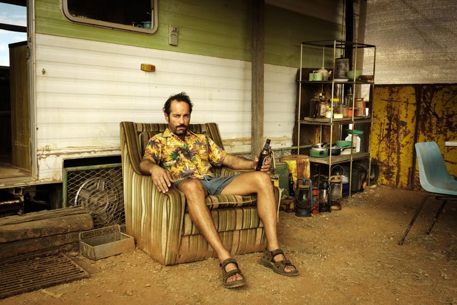 Alex Dimitriades plays 'Doc Tydon' Wake in Fright Broken Hill NSW 2017