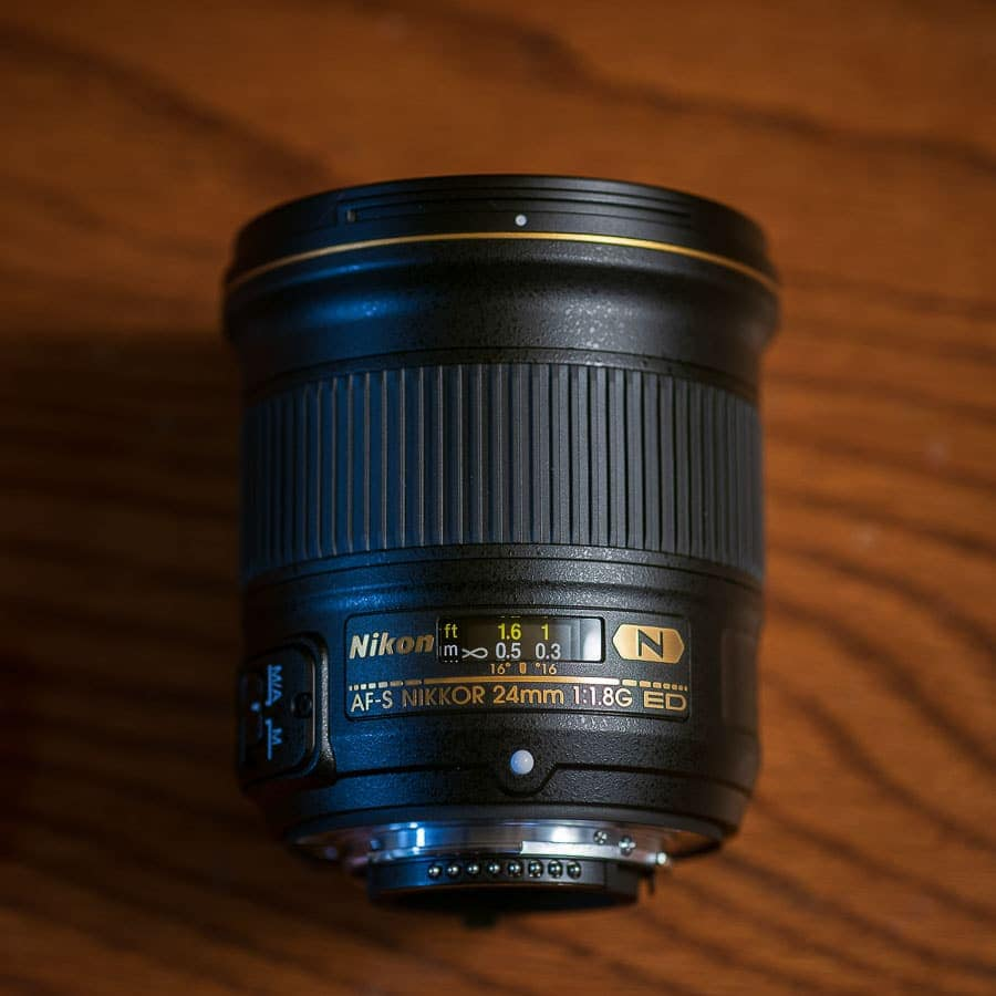 Nikon 24mm f/1.8 G Lens Review Focus Ring Manual
