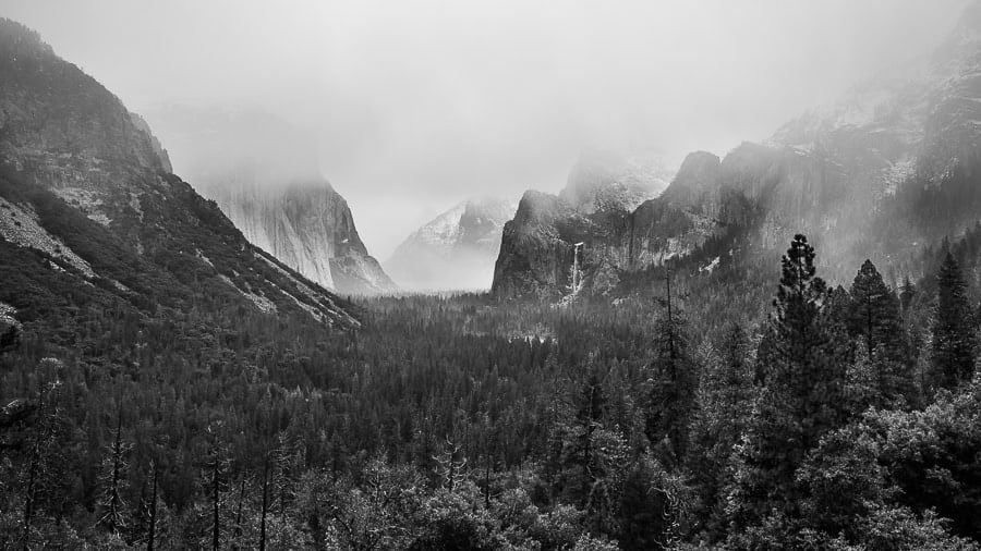 Nikon 24mm f/1.8 G Lens Review Yosemite Landscape