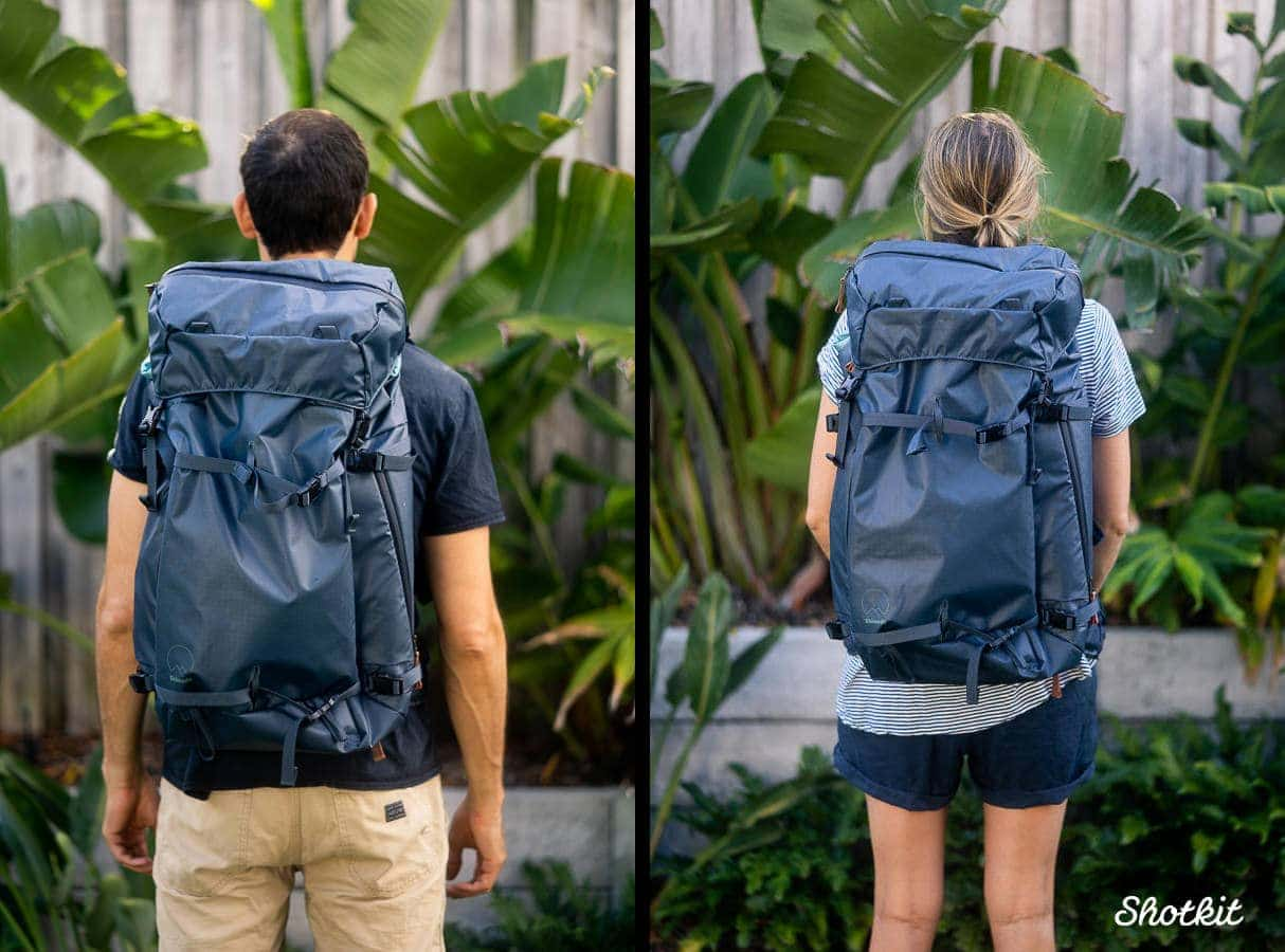 Shimoda-explore best hiking camera bags for photographers needing lots of compartments