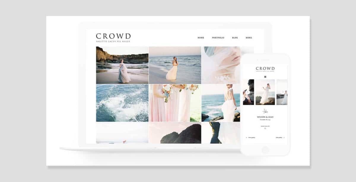 Flothemes Review Crowd Template