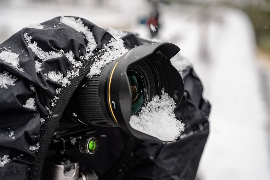 Nikon 24mm f/1.8 G Lens Review Weather Sealing Gasket