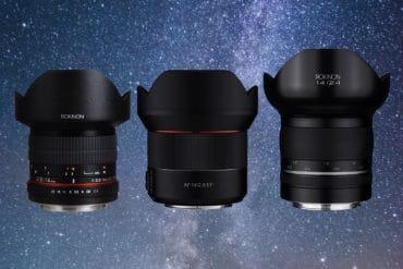 Rokinon Samyang 14mm lens comparison