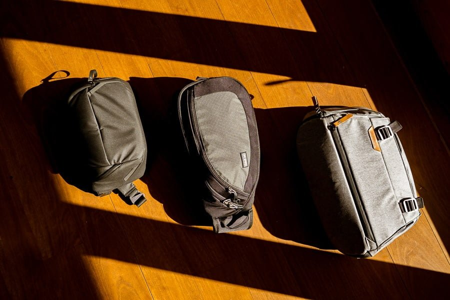 camera sling bags - my kit