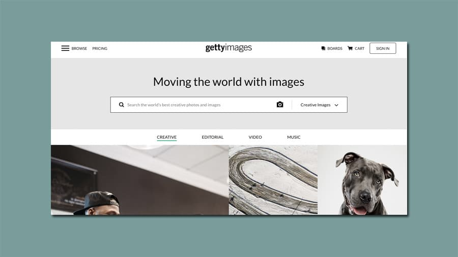 Getty images macro stock