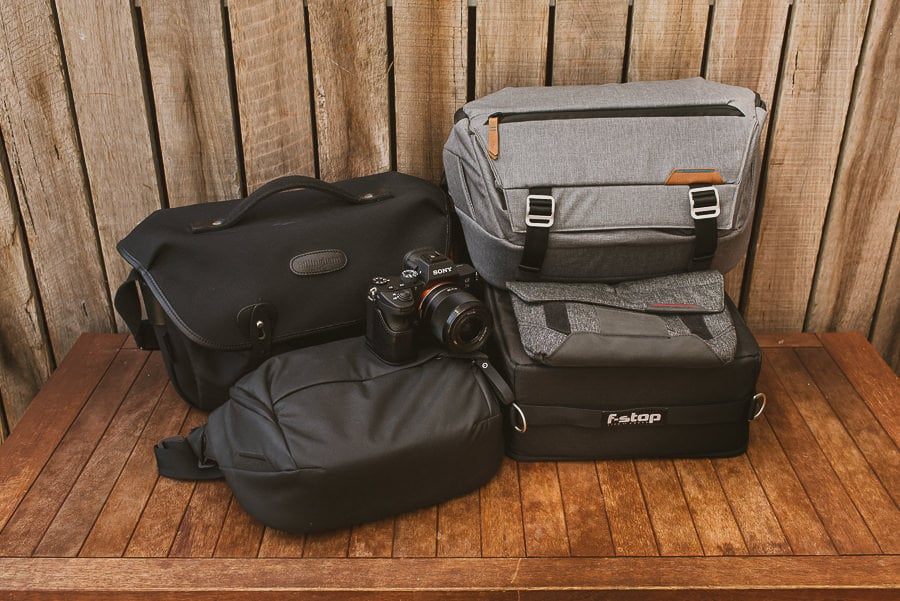 mirrorless camera bags shotkit