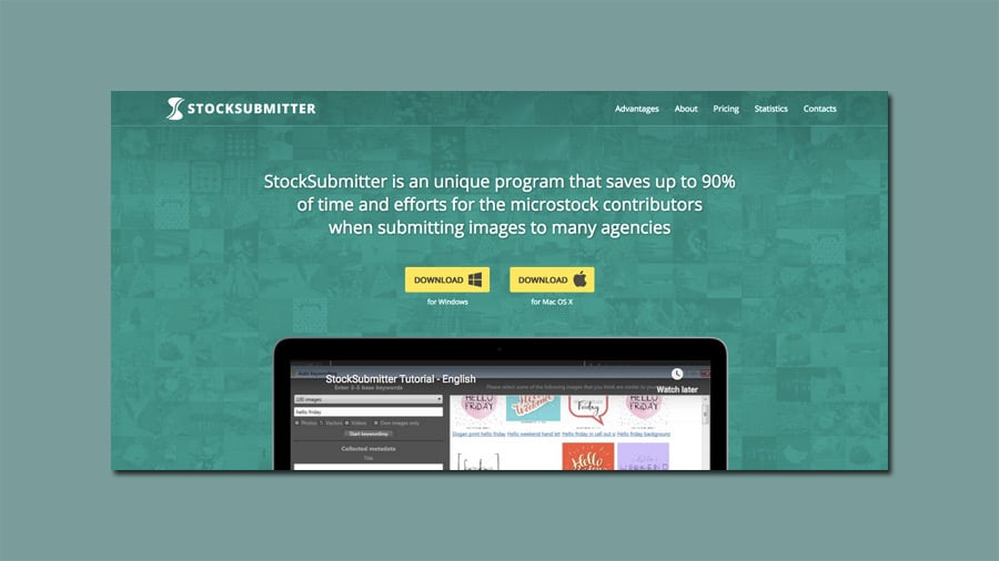 stocksubmitter automates stock photo submission