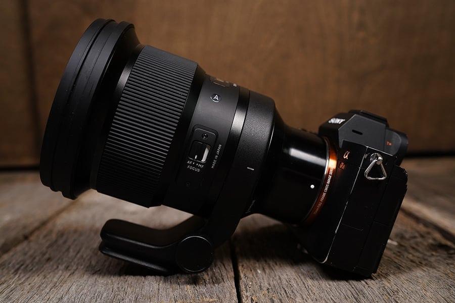 Sigma 105 on Sony A9