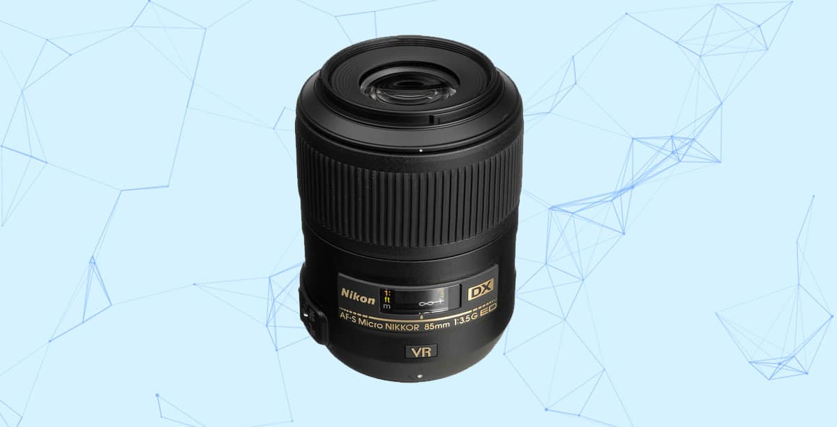 Nikon 85mm f/3.5 DX Macro