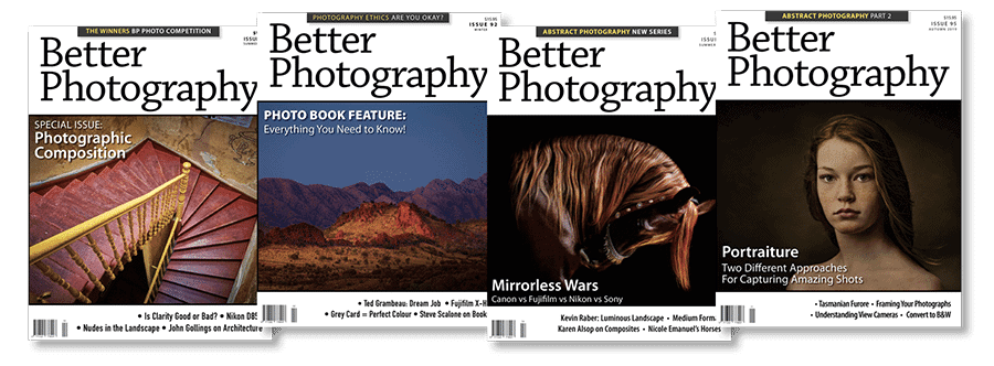 Better Photography Magazine Covers