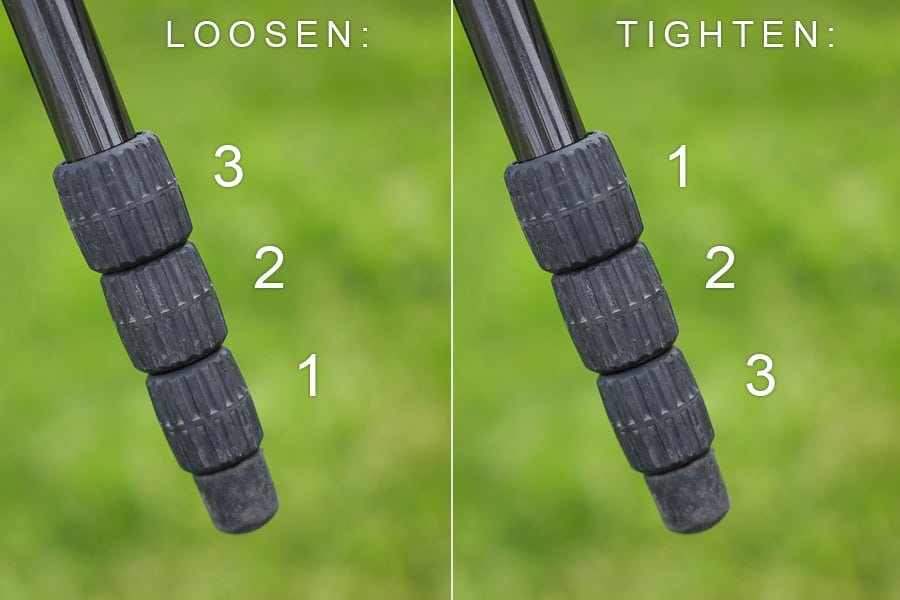 how to set up a tripod