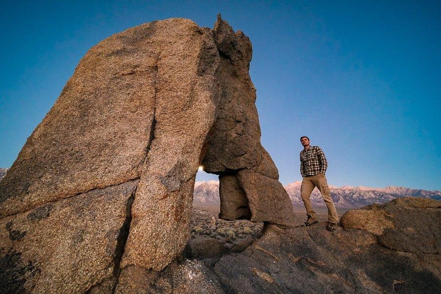 Selfie at Eastern Sierra