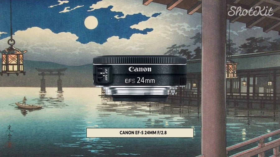 24mm pancake lens great for aps-c camera