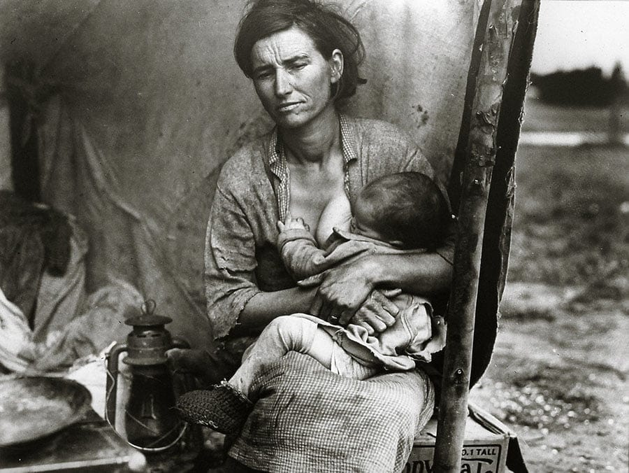 Dorothea Lange Photography - portrait photographers