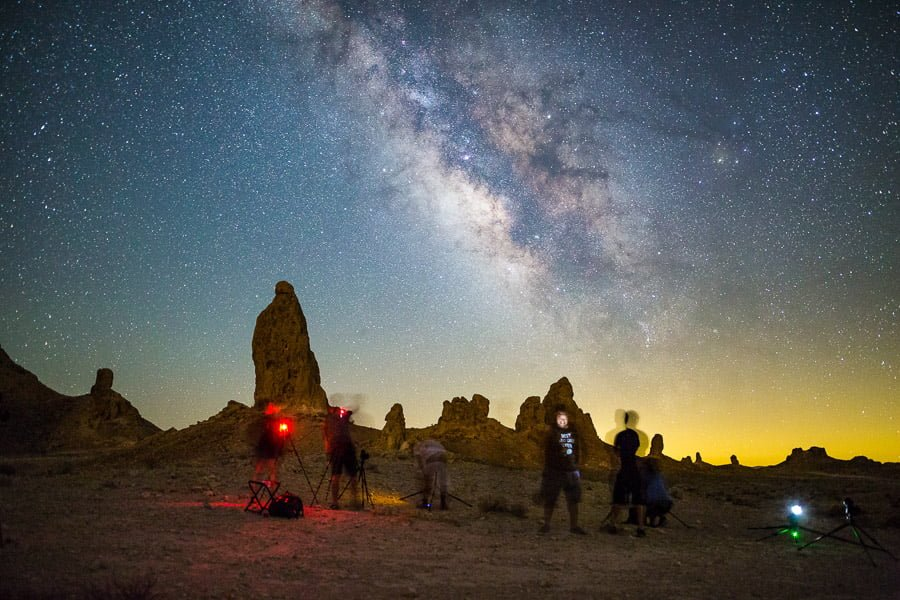 how to photograph the milky way workshop - 500 rule and focal length of lens are important!