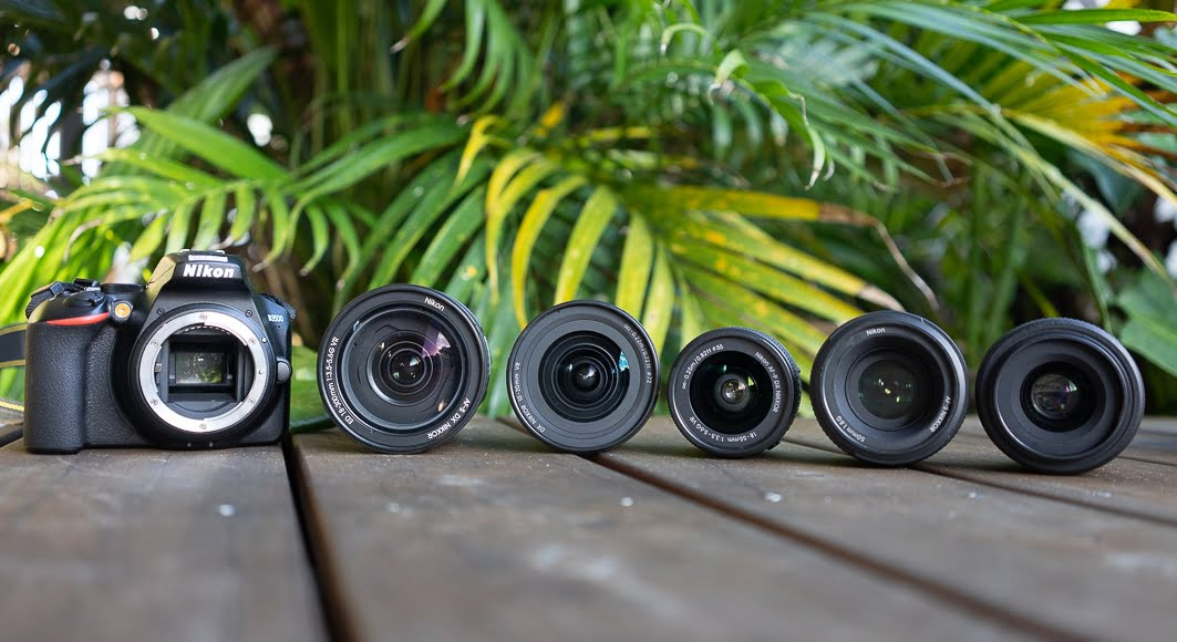 selection of Nikon d3300 lenses reviewed