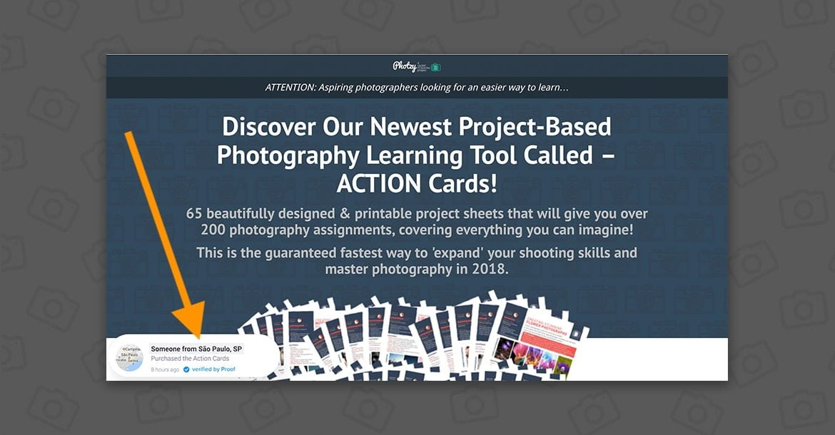 Photzy Action Cards Price