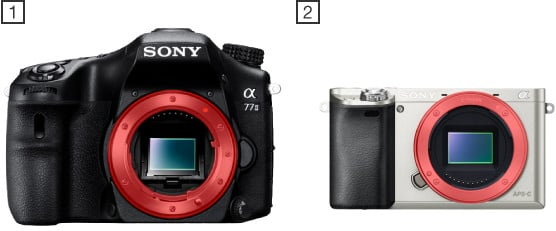 Sony a mount vs Sony e mount